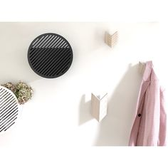 We are hanging up our coats in a new studio today in Malmö. We will post some pictures soon so you can see! Baskets On Wall, Storage Baskets, Storage Spaces, Hallway Storage, Lego Storage, Geometric Form, Decorative Storage, Scandinavian Interior, Elle Decor