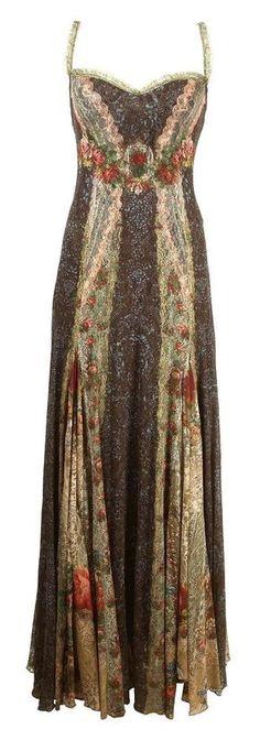 ☮ American Hippie Bohemian Boho Style ~ Gorgeous Gypsy Maxi Dress