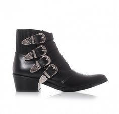 15 Amazing Accessories to Add to Your Fall Outfit Roster via @WhoWhatWear Toga Pulla Buckle Boots ($458)