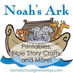 Free List Of Noahs Ark Printables And Craft Resources