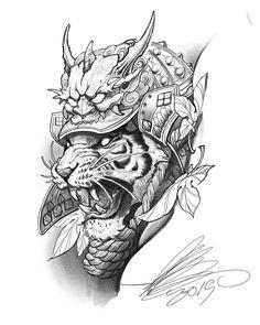 433 curtidas 2 comentrios irezumi culture tattoo irezumi_culture no amazing art done by _mr damianrobertson_ tigersketch tigerdrawing samuraiwarriors here s one of those flowers available for a tattoo email billyweiglergmail com Japanese Tattoo Artist, Japanese Tiger Tattoo, Japanese Dragon Tattoos, Japanese Tattoo Designs, Japanese Sleeve Tattoos, Irezumi Tattoos, Kunst Tattoos, Body Art Tattoos, Samurai Maske Tattoo