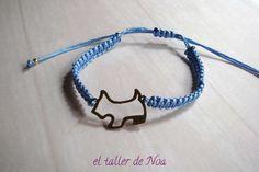 #Pulseras ref. gbi15006 de la Col. Glissant Bracelet, regulables y con detalle central. Te gustan los #perritos, o eres una #enamorada del #amor... Compras en www.eltallerdenoa.com #bisutería #jewelry #bracelet, #adjustable #dog #love #joyería