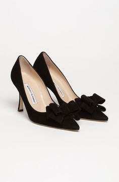 Bow Pump in Black | Nordstrom