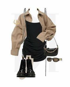 Glamouröse Outfits, Style Outfits, Kpop Fashion Outfits, Retro Outfits, Cute Casual Outfits, Polyvore Outfits, Moda Streetwear, Streetwear Fashion, Moda Kpop