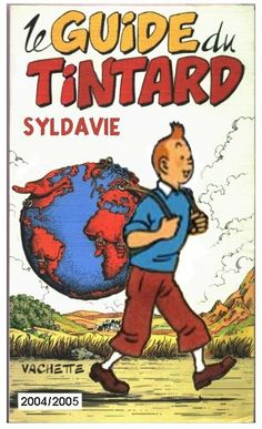 tintin, with the world on his shoulders