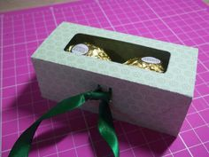 Mini caixa de bombons
