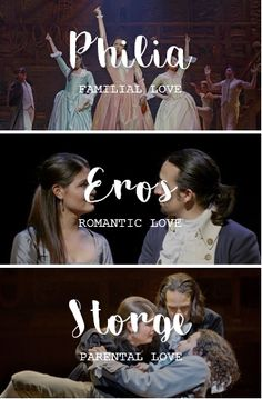 Eliza & the Greek words for Love