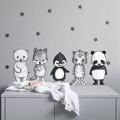Stickstay - Dream friends Dream Friends, Baby Zimmer, Decorate Your Room, Owl Art, Baby Boy Rooms, Baby Decor, Nursery Wall Art, Holidays And Events, Kids Bedroom