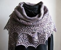 Ravelry: 1902 A - Ladies Scarf pattern by Tanja Steinbach