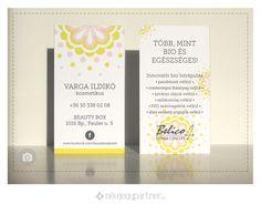 Belico Névjegykártya l Névjegypartner Beauty Box, Concept