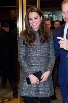 Catherine, Duchess of Cambridge attends a reception co-hosted by the Royal Foundation and the Clinton Foundation at British Consul General's Residence on December 8, 2014 in New York City.