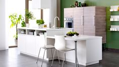 Everyone should have their own island. #IKEA #kitchens
