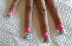 New nail trend: Duck Feet nails - New nail trend: Duck Feet nail art manicure – Photos – Beauty – Stylist Magazine - So Nails, Nail Manicure, Pretty Nails, Manicures, Nail Designs Pictures, Cute Nail Designs, Duck Feet Nails, Feet Nail Design, Flare Nails