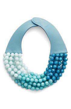 Fairchild Baldwin Fairchild Baldwin Multirow Beaded Collar Necklace available at Fabric Jewelry, Diy Jewelry, Beaded Jewelry, Jewelery, Silver Jewelry, Handmade Jewelry, Beaded Necklace, Jewelry Design, Fashion Jewelry
