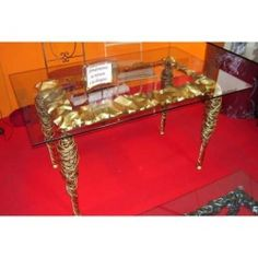 Table wrought iron. cm 80 x 140 x h 75 . 639