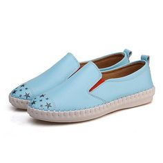 Women Outdoor Casual Shoes Slip On Comfortable Flat Loafers