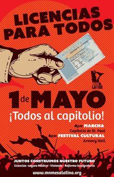 Marcha el 1 de mayo y evento cultural para las comunidades migrantes unidas Thing 1, Comic Books, May 1, Cultural Events, Pintura, Cartoons, Comics, Comic Book, Graphic Novels