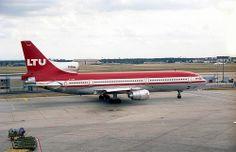 1158 Lockheed L1011-100 Tristar  D-AERN LTU Frankfurt Airport