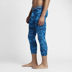 79fa427e4f4b2 Nike Pro HyperCool Men's Printed Tights SIze: Youth M; Youth L