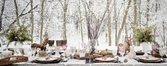 Winter tablescapes and talking all things blogging parternships