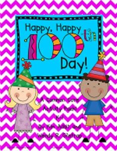 Happy, Happy, 100th Day-A Common Core Activity Pk by Kim A