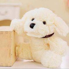 20cm Cute Stuffed Xiang Xiang Dog Toy Doll Soft Animal Lying Dog Plush Toy Children's Day Gift #Affiliate
