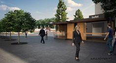 #poprad 's main #square by Architekti on:off #architecture www.onoff.sk