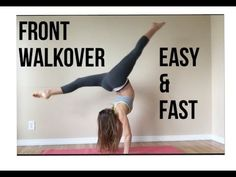 How to Do a Back Walkover - YouTube