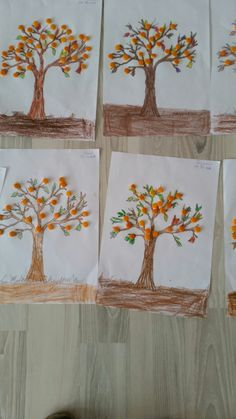 Portakal kabugundan portakal ağacı Diy And Crafts, Mandala, Education, Orange, Purple, School, Early Education, Winter Time, Activities