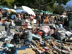 Flea Market open on Tuesdays' mornings and Saturdays