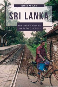 Planning on traveling to Sri Lanka? Wondering if you should book a driver and car, or take the train or bus around Sri Lanka! Here you get everything you need to know about how to travel Sri Lanka. The Ultimate Guide To Getting Around Sri Lanka Train Tickets, Buy Tickets, Sri Lanka Itinerary, Train Route, Domestic Flights, Ways To Travel, Asia Travel, Travel Around, Travel Guides
