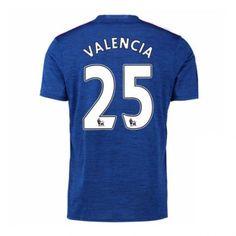 Manchester United 16-17 Valencia 25 Udebane Trøje Kortærmet.  http://www.fodboldsports.com/manchester-united-16-17-valencia-25-udebane-troje-kortermet.  #fodboldtrøjer