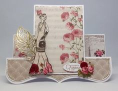 Card created using Deco and Decadence Collections, made by Emma Smith. www.craftworkcards.com Stepper Cards, Craftwork Cards, Easel Cards, Card Making Inspiration, Craft Work, Emboss, Envelopes, Handmade Cards, Mothers