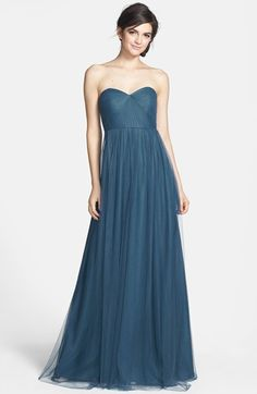 Convertible bridesmaids dress (the easiest way to do mismatched) in a pretty dusky blue