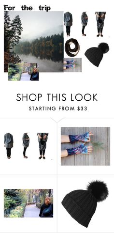 """For the trip"" by kropkadesign ❤ liked on Polyvore featuring Black and SOREL"