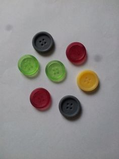 X10 mixed button buttoned buttons novelty soaps by NoveltySTOP, £1.39