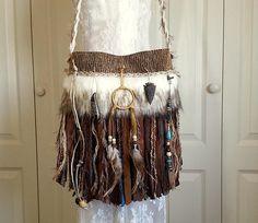 Native American Indian Inspired Fringe Bag   Navajo Dream