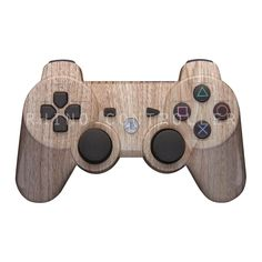 Custom PS3 controller Wireless Glossy WTP-113-Wood-Grain Custom Painted