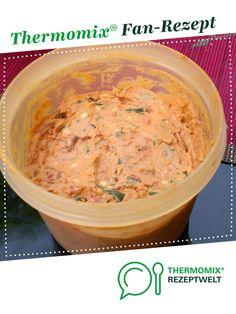 Frischkäsedipp mit Tomaten von BrigitteReul. Ein Thermomix ® Rezept aus der Kategorie Saucen/Dips/Brotaufstriche auf www.rezeptwelt.de, der Thermomix ® Community.