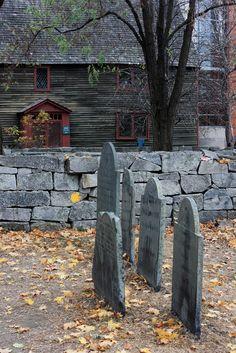 Salem memorial graveyard . Massachusetts