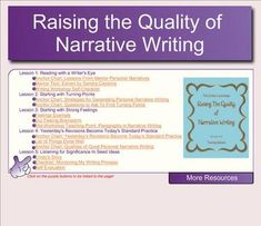 Narrative Writing Lucy Calkins $$