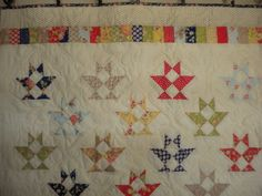 Canasta Quilt by Miss Rosie's Qujilt Company, on-point setting