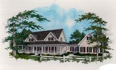 house plan with breezeway