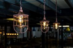 A distressed metal cage light fitting from our large lighting range. We have a…