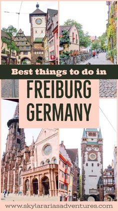 Top things to do in Freiburg Germany Top must see sites in Freiburg Germany – Skylar Aria's Adventures Best Places To Eat, Cool Places To Visit, Familienfreundliche Hotels, Black Forest Germany, Europe Destinations, Holiday Destinations, Palawan, Blog Voyage, European Travel