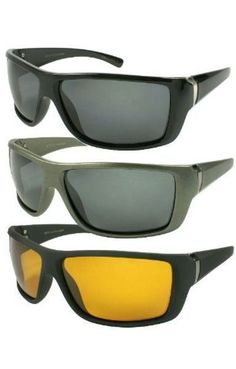 d53086c9aa2 Polarized Sport Sunglasses by Calabria 540778 in Grey Frame  amp  Grey Lens   fashion