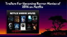 Any time is the right time to watch a horror movie. Every year horror movies are flooded into theatres and direct-to-video releases. There are hundreds of horror movies to watch on Netflix. Enjoy your scares from the comfort of your own couch thanks to streaming content from Netflix.