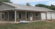 Built-Rite Buildings specializes in custom metal buildings, post-frame buildings, garages, and horse barns. Metal House Plans, Pole Barn House Plans, Shop House Plans, New House Plans, Garage Plans, Morton Building Homes, Steel Building Homes, Building A House, Post Frame Building