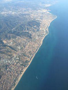 Barcelona frå lufta ❤️