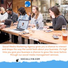Social Media Agency - The Best Marketing & Advertising Solutions Social Media Marketing Agency, Influencer Marketing, Marketing And Advertising, Build Your Brand, Get Started, Feels, Management, Shape, Button